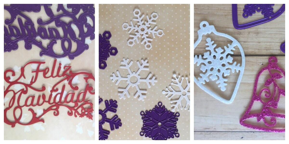 troqueles de Navidad e invierno