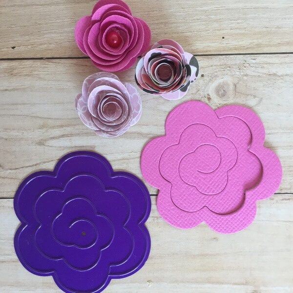 Troquel Flor 3D