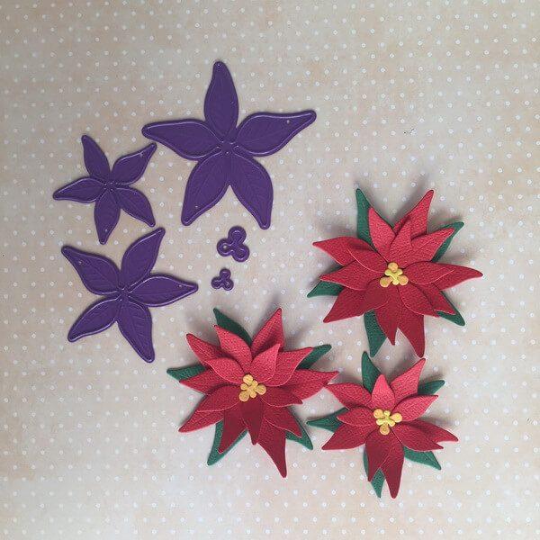 Troquel de Flor de Pascua