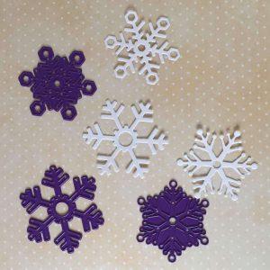 Troqueles de copos de nieve