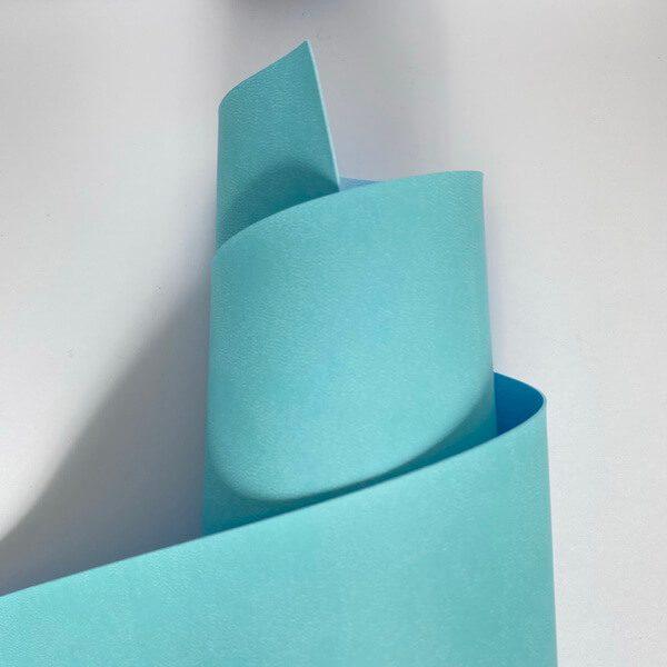 Ecopiel color azul claro