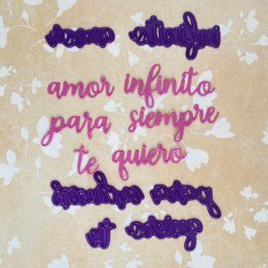 Troquel Palabras de Amor